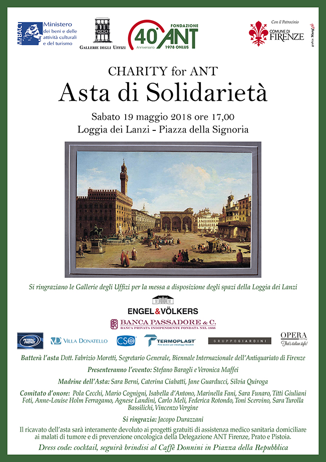Charity for ANT: Asta di Solidarietà