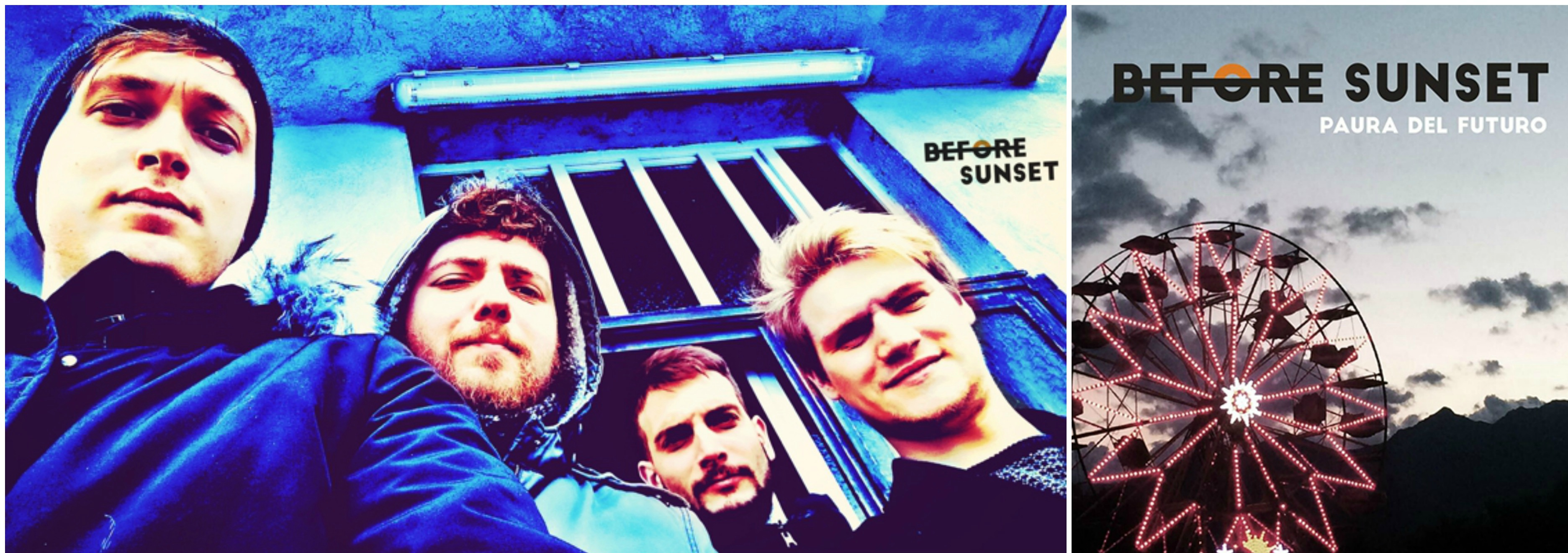 Before Sunset – Paura del futuro (InLoop Music / NML New Model Label cd 2018) soft punk rock per affermare che non avrete mai la nostra insicurezza
