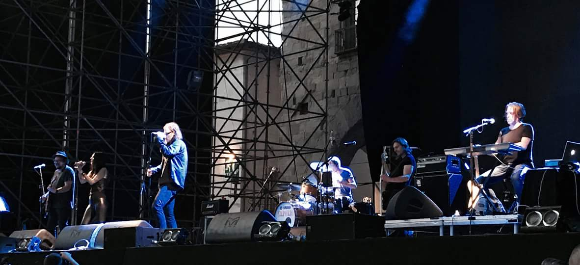 Ultima serata al Pistoia Blues 2018, Mark Lanegan band